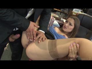 VideosZ: Dani Daniels - Office Job (classic sex, squirt, hairy pussy - hardcore porn HD 720)