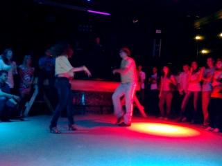 Anton Karmanov & Liliya Farafontova performance @ Salsateca 5 years party