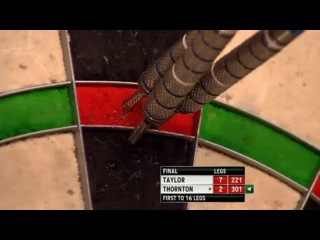 Phil Taylor vs Robert Thornton (Grand Slam of Darts 2013 / Final)