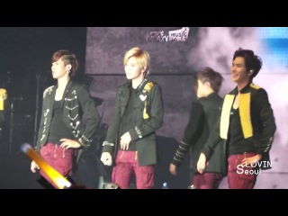 [Fancam] 131206 INFINITE Talk 2 @ OGS in Dubai