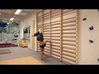 Чемпионка мира по пилонному танцу - Уна Кивеля
