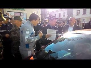 Крымские водители возмущены работой местной ГАИ и самообороны