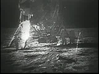 1969-07-16 Apollo-11-1stEVA-TVtransmission
