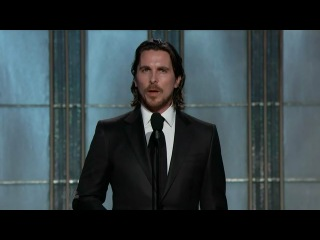 Christian Bale presents David O.Russel's