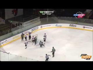 Динамо Рига- Ак Барс 32 Rīgas Dinamo pagarinājumā uzvar Kazaņas Ak Bars