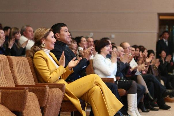 Дочь Президента Казахстана Алия Назарбаева с супругом
