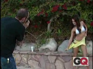 Голая Джессика Альба в журнале GQ ( Jessica Alba nude erotic GQ)