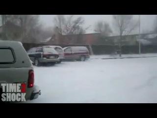 Зима пришла - подборка аварий ДТП 2012