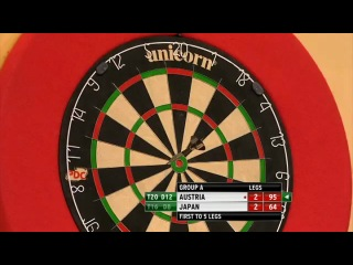 Austria vs Japan (PDC World Cup of Darts 2013 / First Round)