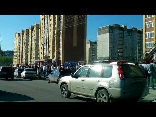 Пожар в Тюмени ул.Широтная