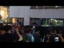 FTISLAND покидают студию записи программ Maleenont Tower (Таиланд) 27/03/14 [FanCam1]