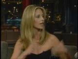 Sarah Michelle Gellar on David Letterman show january 2008
