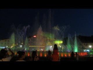 поющие фонтаны Мармариса