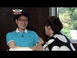 Lee Hong Ki (+JongTae) - Eating Chicken Feet (HD)12.04.27