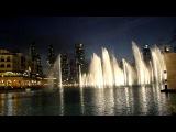 Самый красивый поющий фонтан в мире в Дубае памяти Уитни Хьюстон!!!!!!!
