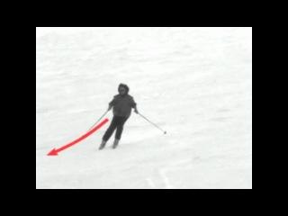 Урок 1. Видео как научиться кататься на горных лыжах