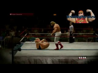 www.WrestlinPortal.ru - WWE 2K14 Прохождение 30 years of wrestlemania 1