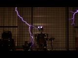 Заглавная Тема Фильма Тихоокеанский Рубеж на Катушках Тесла и с Роботом-Ударником / Pacific Rim Main Theme  - ArcAttack - Singing Tesla Coils