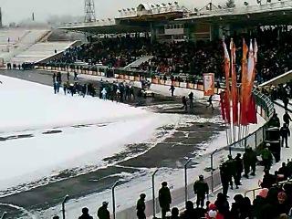 Первый олимпийский огонь в Осетии !!!!!!!!