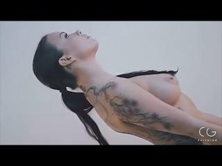 Sophia Santi in Naked Yoga