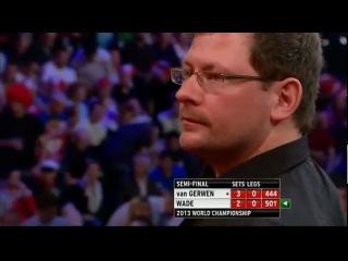 James Wade - Michael van Gerwen (PDC World Darts Championship 2013 / Semi final)