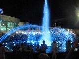 танцующие цветные фонтаны