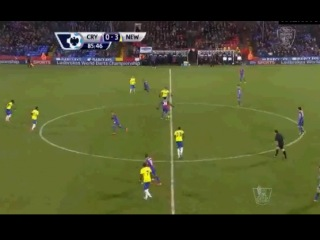 Crystal Palace - Newcastle United 0-3 86 H. Ben Arfa