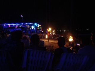 Fire show on the phi-phi island