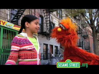 Sesame street podcasts: Frightened
