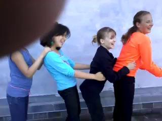 Танец лизбиянок в Слуцке