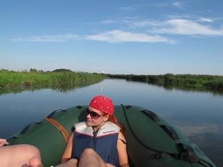 Протока к Вороньему озеру