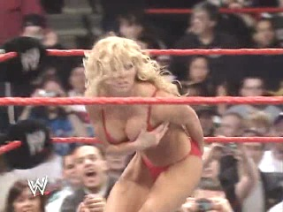 WWE NYR 2006 - Ashley Massaro vs Maria Kanellis vs Torrie Wilson vs Victoria vs Candice Michelle(Bra &