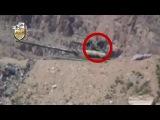 Сирия, 19.06.13. Революционный снайпер убивает танкиста Сирийской Армии.