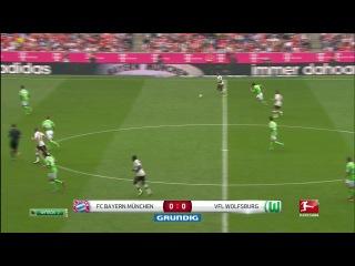 Бавария Мюнхен - Вольфсбург (1 тайм) НТВ+ Футбол 2