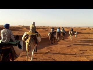 Африка, Морокко , пустыня Сахара