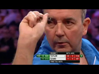Phil Taylor vs Rob Szabo (PDC World Darts Championship 2014 / Round 1)