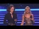 Kat Dennings  and Beth Behrs @ People's Choice Awards 2014 (две девицы на мели) шутки на сцене