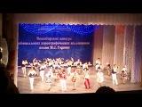 Выступление ансамбля народного танца