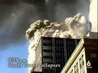 Подрыв 11 сентября 2001 Башен Близнецов изнутри. Новое видео.