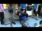 Петро Онищук жим лёжа узким хватом 300 кг на 3 повтора