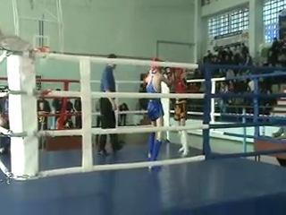 Тайский бокс ,областные соревнования г.Усолье-Сибирское 1 раунд