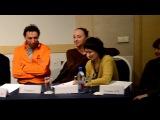 """пресс-конференция с актерами театра """"МАСТЕРСКАЯ П.ФОМЕНКО"""""""