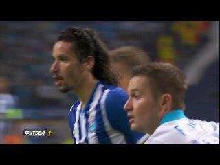 Лига Чемпионов, групповой этап, 3-й тур. Порту 0-1 Зенит