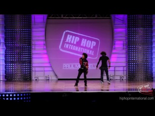 LES TWINS - France - Performance @ HHI's 2012 World Hip Hop Dance Championship