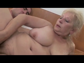 Mature share   granny, old young, big tits