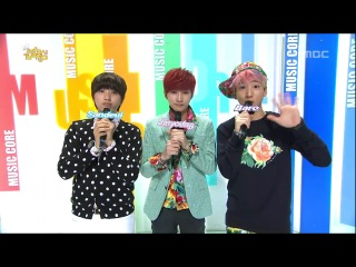 [CUT][130223] Closing Music Core Live by Special MCs #B1A4 Jinyoung, Sandeul & Baro.
