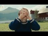 Реклама норвежских авиалиний Wideroe / Grandpa's magic trick