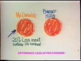 Sarah Michelle Gellar Burger King Commercial 1981 - High Quality