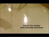 Исправление небольших вмятин на автомобиле при помощи индукционного нагревателя Автотрон 3300-3 (Autotron 3300-3)