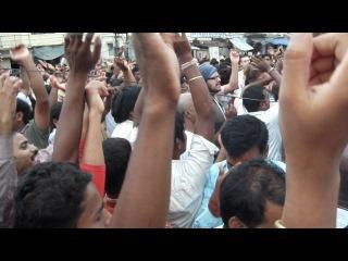 Ратха Ятра (7) Пури 2012 Шрипад Бхактиведанта Шридхар Махарадж ведет киртан